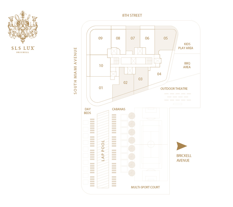 SLS LUX RESIDENCES A