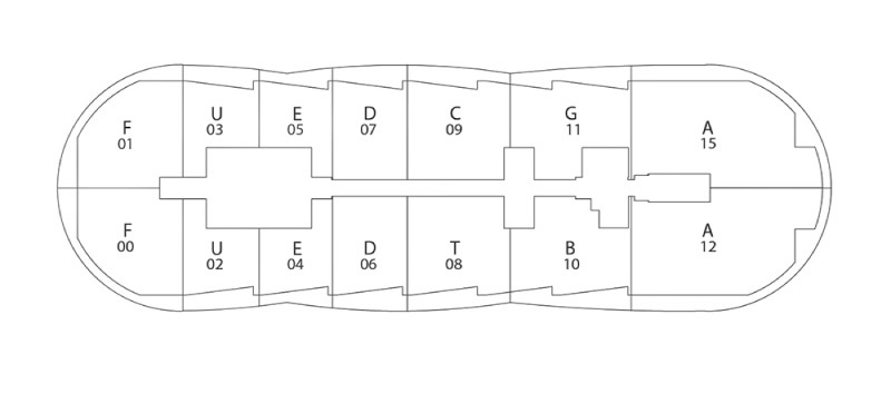 Residences Floors 5 - 15