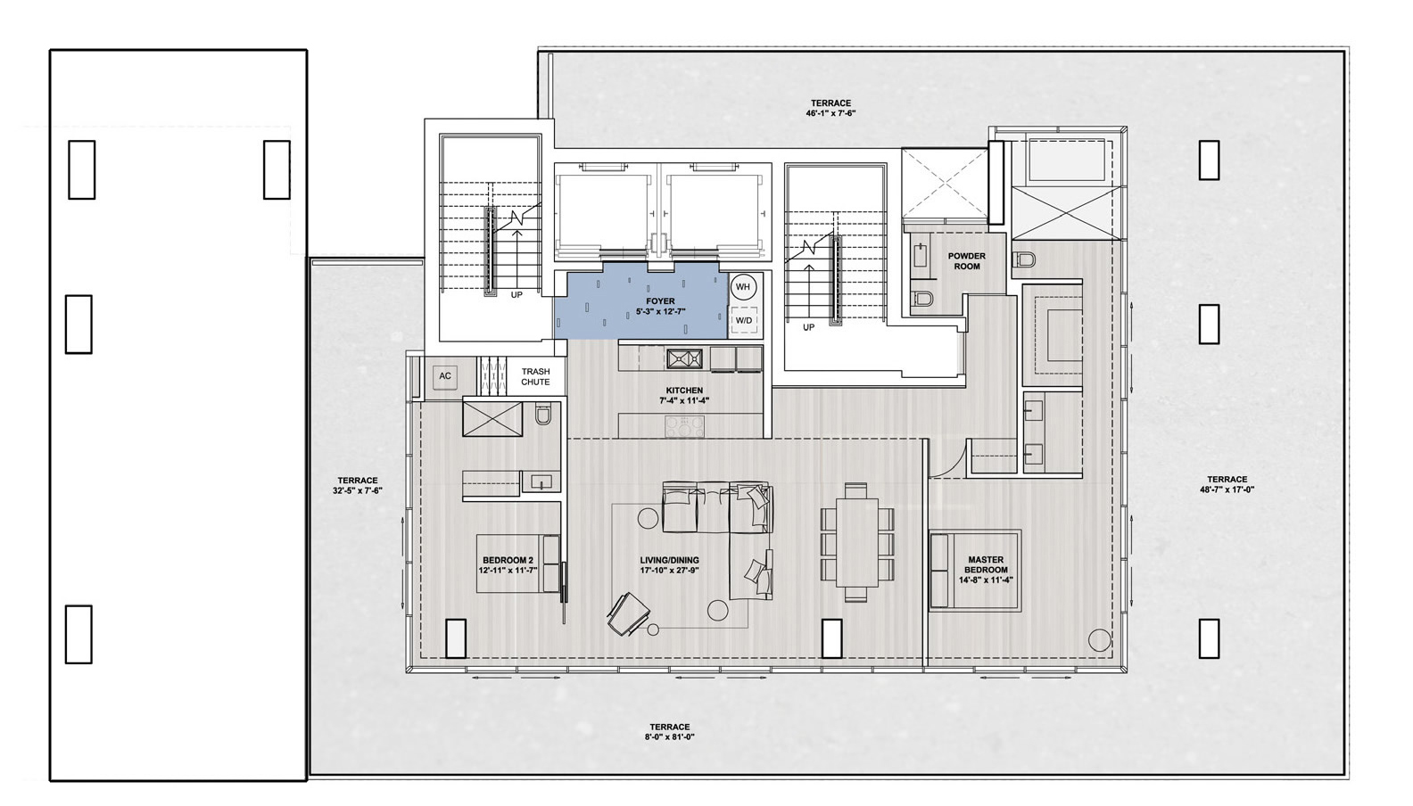 Floors 6 - 7