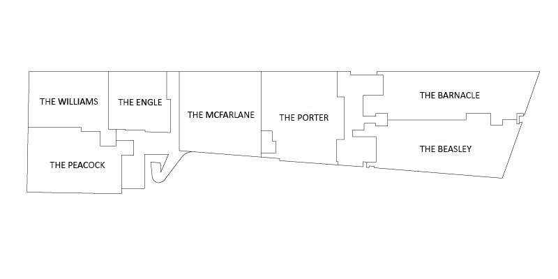 Floors 2 - 3