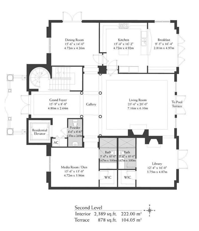 Villa Second Level