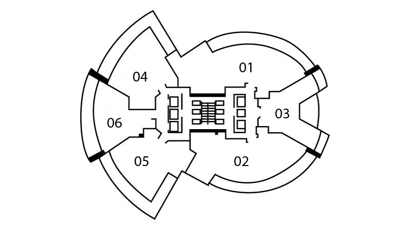 Floors 5  - 19