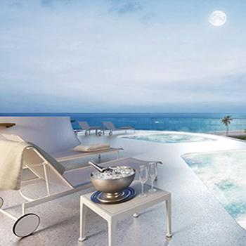 Water therapy terrace