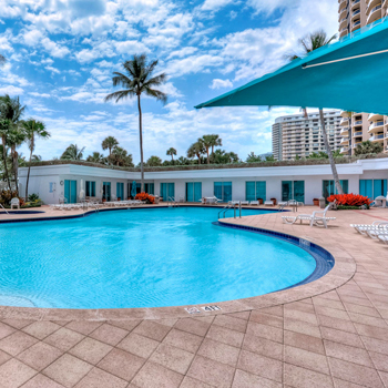 HEATED POOL WITH CABANAS
