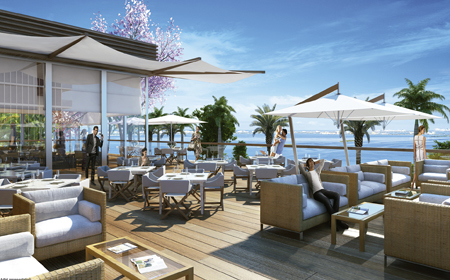 Beach Club Dining - Michael Schwartz Design