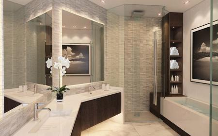 Spectacular bathrooms