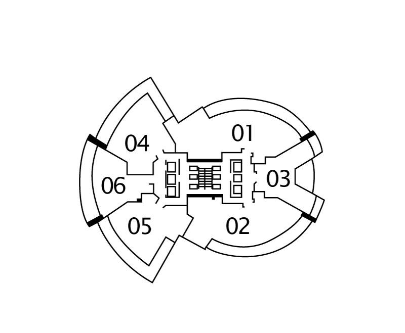 Floors 20-34