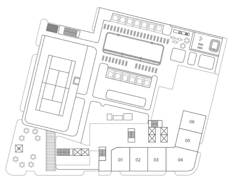 Floors 2 - 6