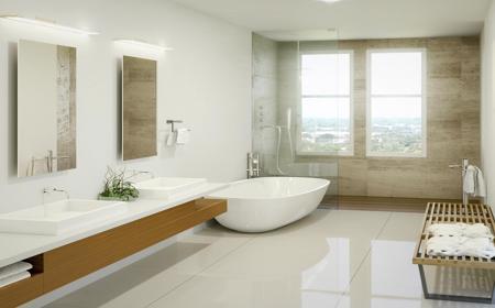 IMPECCABLE BATHROOMS