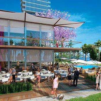waterfront beachclub restaurant