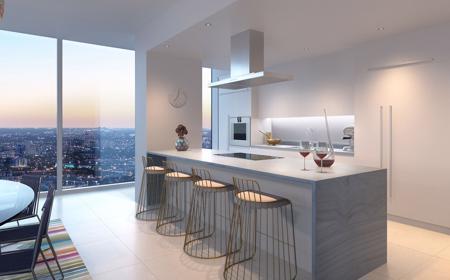 Kitchen / Bathroom Features