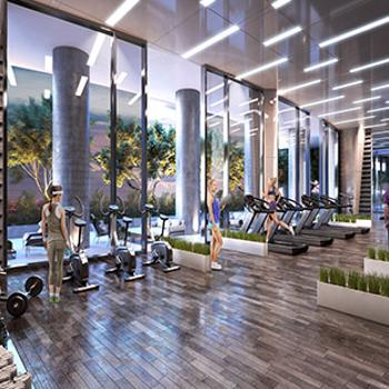3,000 sq. ft. cutting edge gym