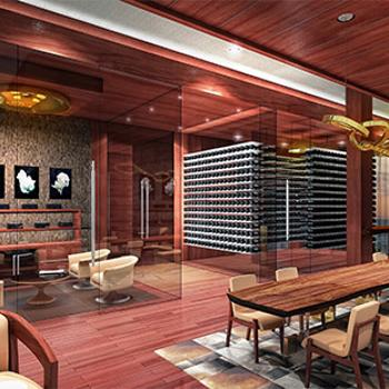 WINE CELLAR, TASTING ROOM & CIGAR LOUNGE